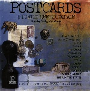 Reference Recordings HDCD - Turtle Creek Chorale  Postcar