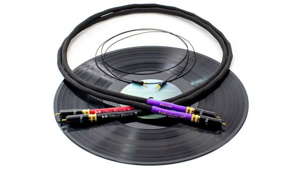Tellurium Q Ultra Black II Phono Kabel RCA