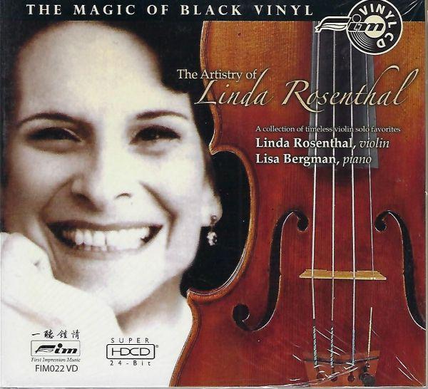 Linda Rosenthal - The Artistry of - Vinyl CD
