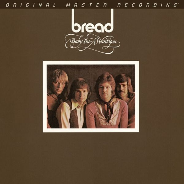 Bread - Baby I'm-A Want You 180g Vinyl