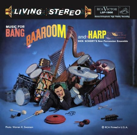 Dick Schory's New Percussion Ensemble Music for Bang Baaroom and Harp Hybrid SACD