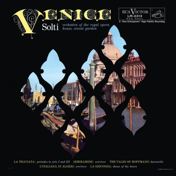 Georg Solti & Orchestra of the Royal Opera House Covent Garden Venice Hybrid SACD
