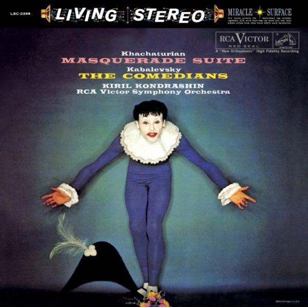 Kiril Kondrashin & RCA Victor Symphony Orchestra - Khachaturian - The Masquerade Suite und Kabalevsk