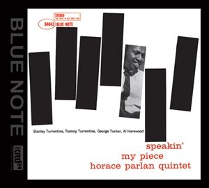 Horace Parlan - Speakin my Piece - XRCD24