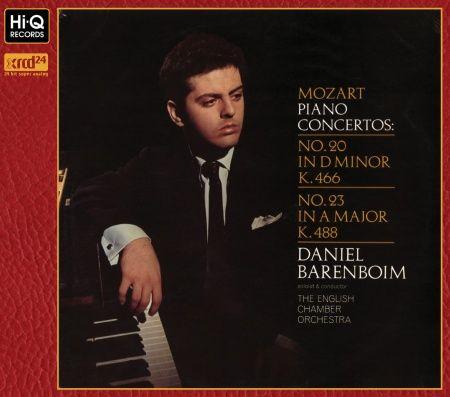 Mozart Piano Concertos No. 20 & 23 XRCD24