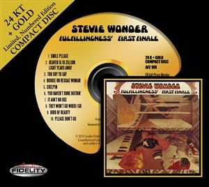 Stevie Wonder Fullfillingness' First Finale 24 Karat Gold CD nur noch 3 Stck verfügbar!