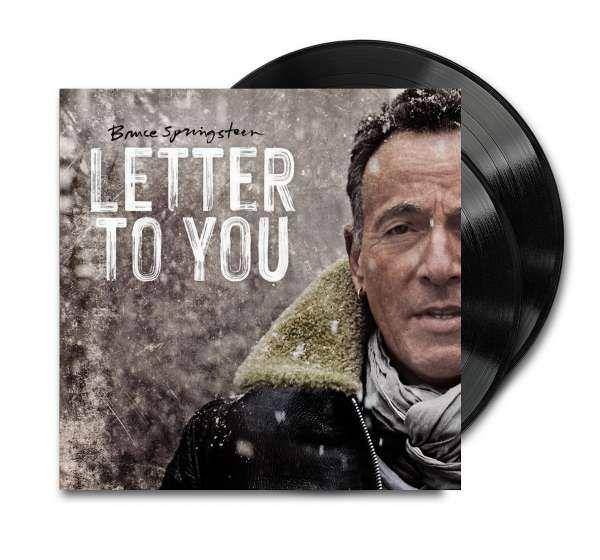 LP Bruce Springsteen Letter to you