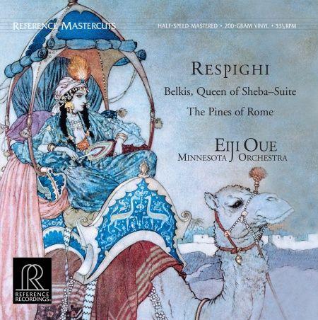 Eiji Oue & Minnesota Orchestra Respighi Belkis Queen Of Sheba Suite 200g Vinyl LP