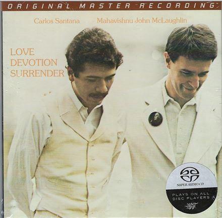 Santana McLaughlin Love Devotion Surrender Hybrid SACD
