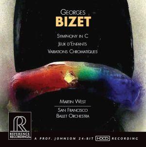 Georges Bizet Symphony in C Jeux d'enfants Variations chromatiques