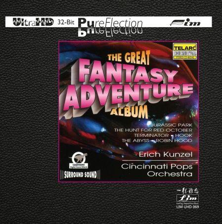 Erich Kunzel & Cincinnati Pops Orchestra The Great Fantasy Adventure Album Ultra-HD-CD
