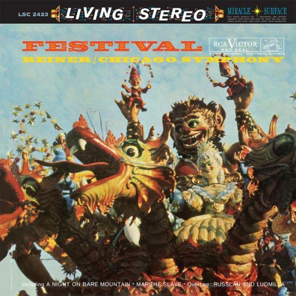 Fritz Reiner & Chicago Symphony Orchestra - Festival Hybrid SACD