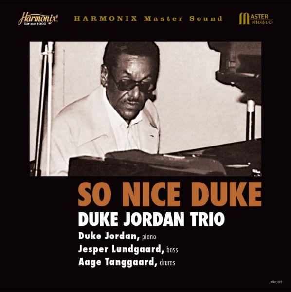Duke Jordan Trio So Nice Duke 180g Vinyl