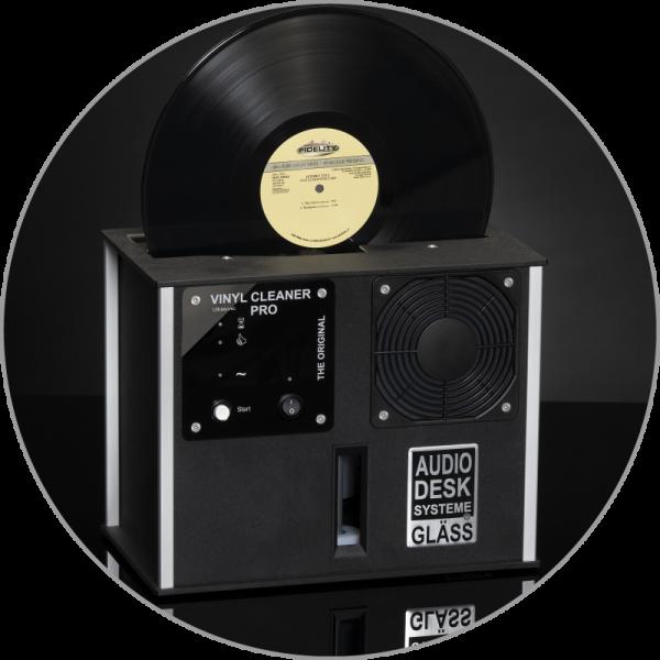 Audiodesksysteme Gläss Vinyl Cleaner Pro X Schwarz