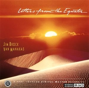 Reference Recordings CD - Jim Brock - Letters From the Equ