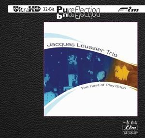 Jacques Loussier Trio The Best of Play Bach Ultra-HD-CD