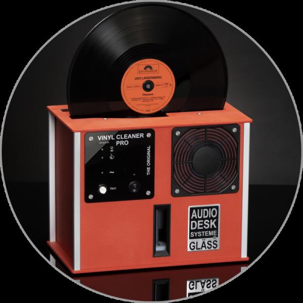 Audiodesksysteme Gläss Vinyl Cleaner Pro X Rot
