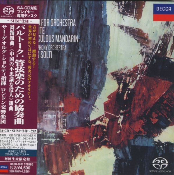 Concerto For Orchestra, Dance Suite, The Miraculous Mandarin SHM-SACD