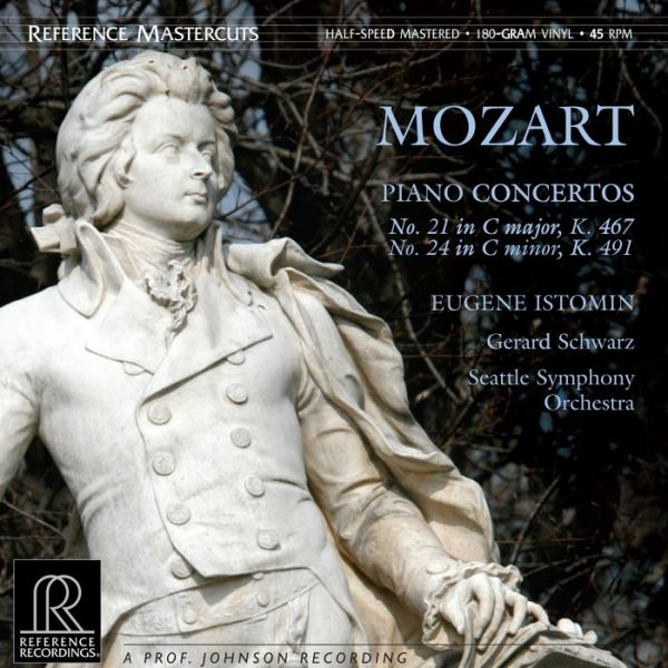 Gerard Schwarz & Seattle Symphony Orchestra: Mozart - Piano Concertos 200g Vinyl