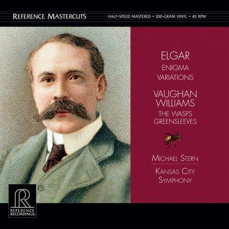Edward Elgar Vaughan Williams 200g Vinyl Doppel-LP