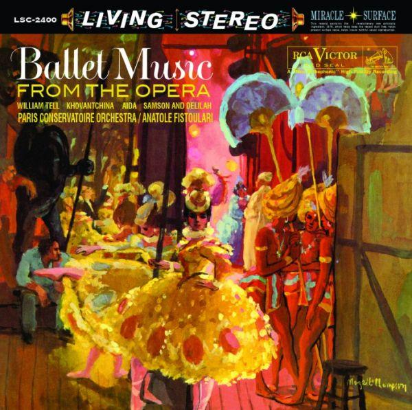 Anatole Fistoulari & Paris Conservatoire Orchestra - Ballet Music From The Opera