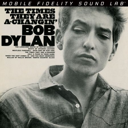 Bob Dylan - The Times They Are A-Changin' Hybrid SACD