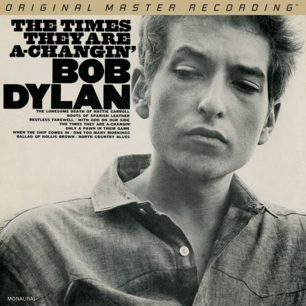 Bob Dylan The Times They Are A-Changin' (Mono) 180g Vinyl, Doppel-LP