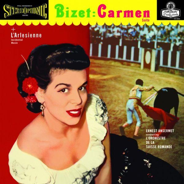 Ernest Ansermet & L'Orchestre de la Suisse Romande - Bizet: Carmen & L'Arlesienne Suite 180g Vinyl D